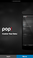 Screenshot of Pop! Control Your Data.