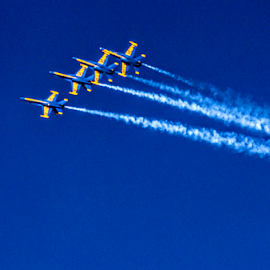 The Blue Angels by Kati Garner - News & Events Entertainment ( jacksonville naval base, planes, precision flying, airshow, blue angels )