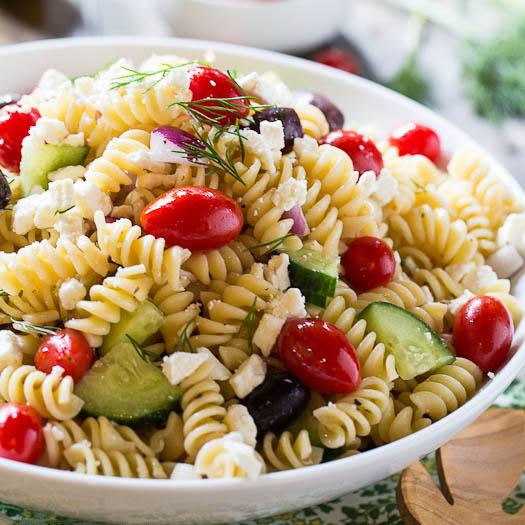 how to make greek pasta