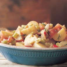New Potato and Radish Salad with Mustard-Dill Vinaigrette