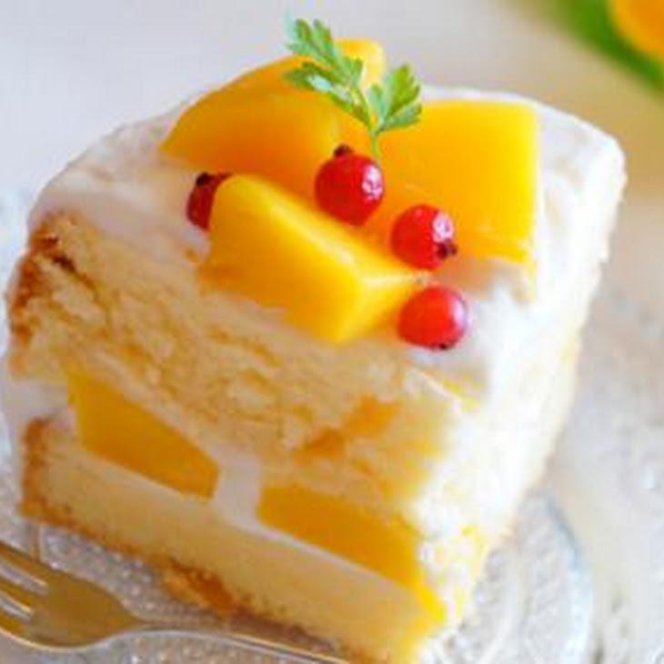 Marvelous Mango Layer Cake Recipe | Yummly