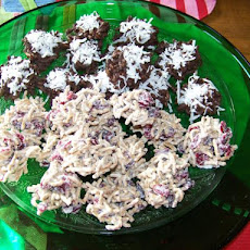 White Chocolate Haystacks