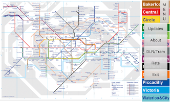 Screenshot of London Tube Map