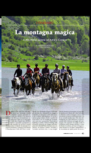 Cavallo Magazine - screenshot