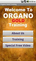 Screenshot of Organo Gold Business