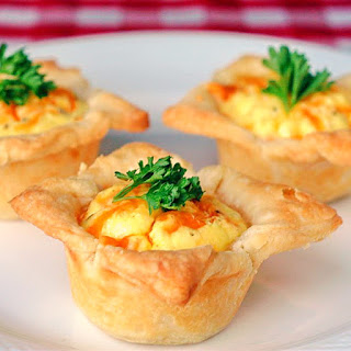 Bacon and Cheddar Mini Quiches