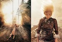 Photography Sølve Sundsbø, Stylist Patti Wilson, Makeup Sil Bruinsma