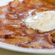 Dutch Apple Pancakes With Cinnamon And Clove Sugar