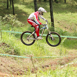 flying by Nanang Setiawan - Sports & Fitness Cycling
