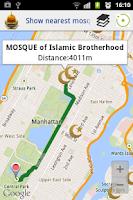 Screenshot of MuslimGuide Salah-Qibla-Mosque