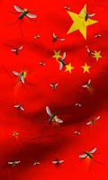 Screenshot of China flag free live wallpaper
