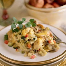 Vegetable-and-Cheese Strata