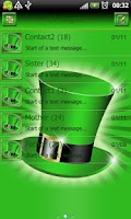 Screenshot of St Patricks Day GO SMS Pro thm