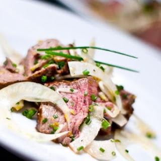 Warm Beef and Shaved Fennel Salad