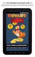 Screenshot of Reward Hen