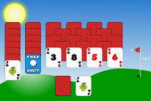 Screenshot of Golf Solitaire