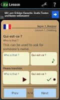 Screenshot of Opilas - Learn Spanish, French