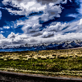 Westcliffe, CO by Nick Higer - Digital Art Places ( mountains, mountain, nature, awesome, beautiful, pretty )