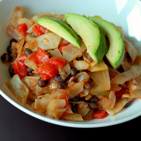 Mexican Cabbage Stir Fry