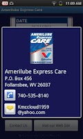 Screenshot of Amerilube Express Care