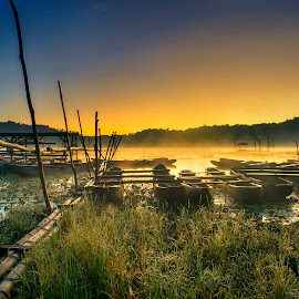 Tamblingan in The Morning by Bayu Adnyana - Landscapes Travel ( landmark, landscape photography, sunrise, travel, morning, travel photography )