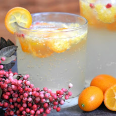 Kumquat and Pink Pepper Spritzer