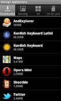 Screenshot of Kurdish Latin Keyboard
