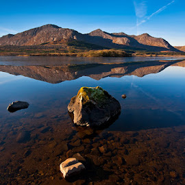 Mirror by Łukasz Rabczyński - Landscapes Mountains & Hills ( connemara, mountains, ireland )