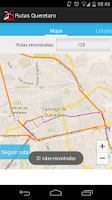 Screenshot of Rutas Queretaro