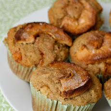 Apple Cinnamon Butterscotch Muffins