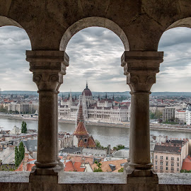 Budapest by Sasa Janjusic - Buildings & Architecture Other Exteriors ( hungary, old, budapest, parlament, town, view, panorama, city )