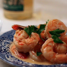 Shrimp in Whisky Cream