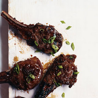 Cider-Glazed Lamb Chops