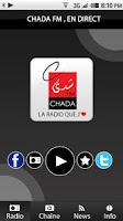 Screenshot of radio chada fm