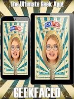 Screenshot of GeekFaced Free Geek FX Booth