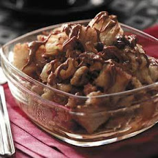 Apple Butterscotch Bread Pudding