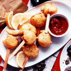Jumbo Shrimp Corn Dogs