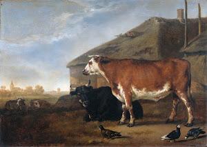 RIJKS: Abraham van Calraet: painting 1722