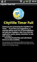 Screenshot of CityVille Crop Timer (Full Ed)