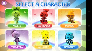 Screenshot of Rainbow Racing