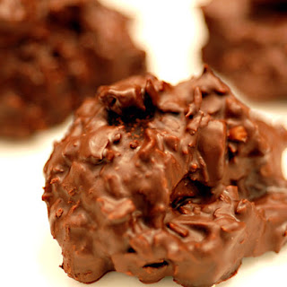Orange Chocolate Coconut Clusters