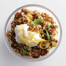 Spiced Warm Muesli with Honeyed Ricotta