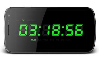 Screenshot of Night Clock HD