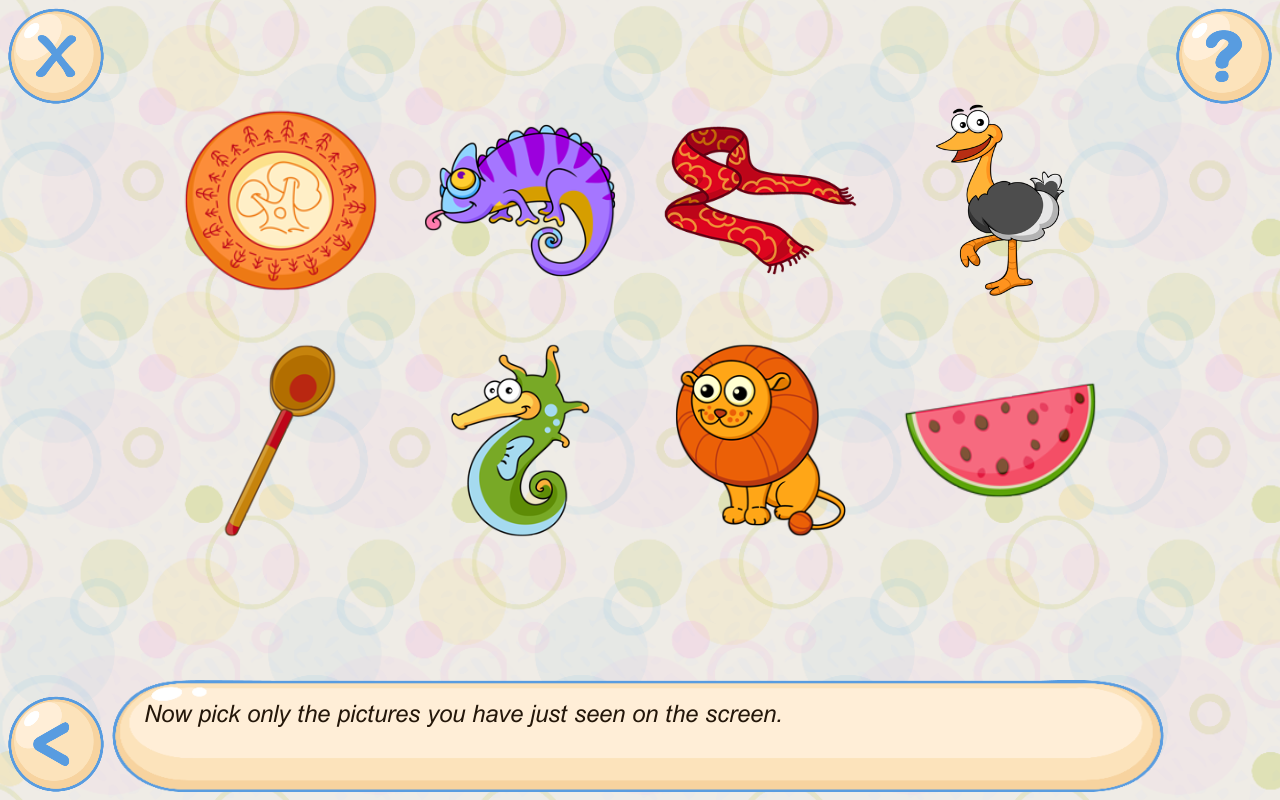 Memory games for kids 4 years Screenshot 9