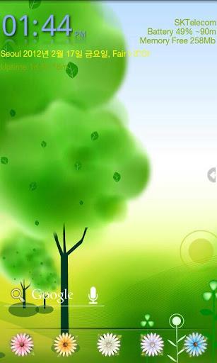 My Spring GO Launcher EX