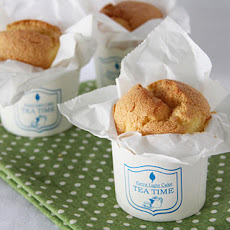 Paper Wrapped Mini Sponge Cakes