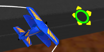 Screenshot of Flight Simulator: Toy Plane 3D