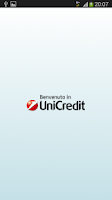 Screenshot of Mobile Banking UniCredit