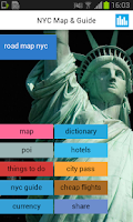 Screenshot of New York NY Offline Map Hotels