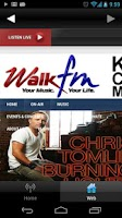 Screenshot of WALK FM